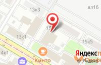 Схема проезда до компании Квадрат-Юо в Москве