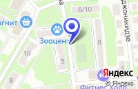 Схема проезда до компании ТОРГОВАЯ КОМПАНИЯ ФИЕРА ТРЕЙДИНГ в Москве