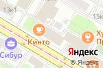 Схема проезда до компании Телеконтакт! в Москве