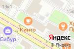 Схема проезда до компании Кинто в Москве
