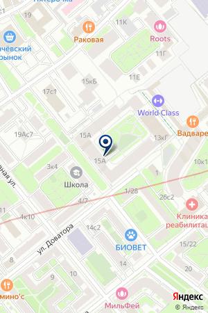 ПРОИЗВОДСТВЕННАЯ КОМПАНИЯ РА-ДОМ на карте Москвы