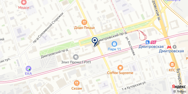СтандартСервис на карте Москве