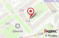 Схема проезда до компании Ф`Артис  в Москве