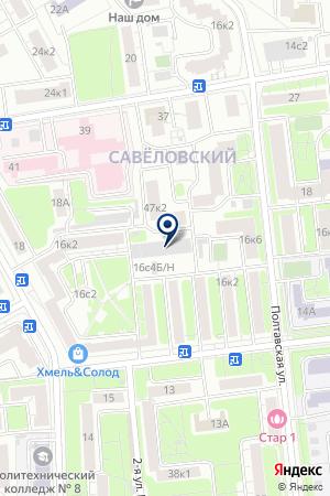 СТРОИТЕЛЬНАЯ ФИРМА ИНЖЕНЕРНЫЙ ЦЕНТР на карте Москвы