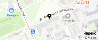 AlexAudio на карте Москвы