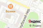Схема проезда до компании ТелекомСП в Москве