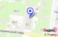 Схема проезда до компании ПТФ ВЕКТОР СЕКЬЮРИТИ в Москве