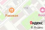 Схема проезда до компании Садовые кварталы в Москве