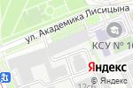 Схема проезда до компании MyHipseat в Москве