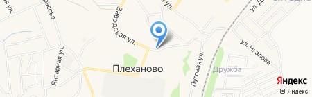 Магазин хозяйственных товаров на карте Хрущёво