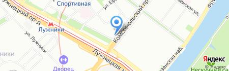 Мир немецкой мебели на карте Москвы