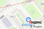 Схема проезда до компании Шарк ID в Москве