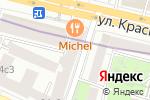 Схема проезда до компании Cafe Michel в Москве