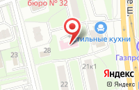 Схема проезда до компании ТУРИСТИЧЕСКАЯ ФИРМА ВОДОЛЕЙ-М в Дмитрове