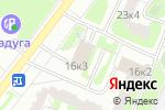 Схема проезда до компании Алладин в Москве