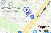 Схема проезда до компании ПТФ МОДУЛА МЕБЕЛЬНЫЕ СИСТЕМЫ в Москве