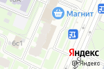 Схема проезда до компании Jovi в Москве