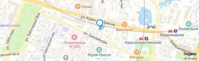 Пресненский переулок