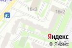 Схема проезда до компании КомфортТехСервис в Москве