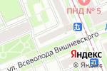 Схема проезда до компании detimega.ru в Москве