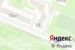 Схема проезда до компании Детский футбольный клуб Викинг в Москве