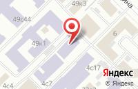 Схема проезда до компании Мелон в Москве