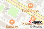 Схема проезда до компании OKVA в Москве