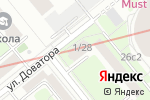 Схема проезда до компании Fable в Москве