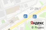 Схема проезда до компании Кросна в Москве