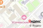 Схема проезда до компании Агентство комплексной безопасности в Москве
