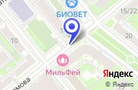 Схема проезда до компании НПП ЭЛКОМ в Москве