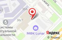 Схема проезда до компании Ю Пи Джи - Медиа в Москве