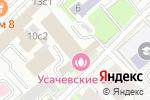Схема проезда до компании Банк Развитие-столица в Москве