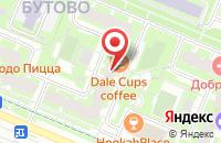 Схема проезда до компании Спецмнац-Строй в Москве