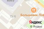Схема проезда до компании A.T. Kearney в Москве