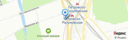 Мосавтопро на карте Москвы