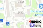 Схема проезда до компании Шик в Москве