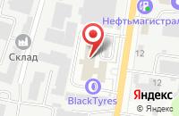 Схема проезда до компании Тесла в Подольске