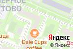 Схема проезда до компании Остров Знаний в Москве