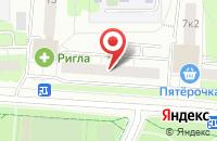 Схема проезда до компании Трианон Плюс в Москве