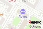 Схема проезда до компании ДСС групп в Москве
