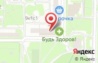 Схема проезда до компании Реклайм в Москве