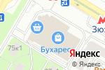 Схема проезда до компании ДОГОВОР №1 в Москве