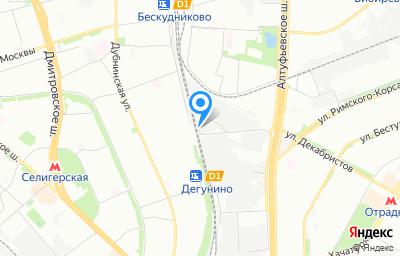 Местоположение на карте пункта техосмотра по адресу г Москва, ул Поморская, д 48А стр 7