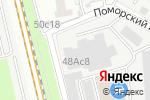 Схема проезда до компании Дегримоторс в Москве