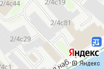 Схема проезда до компании Сенсор в Москве