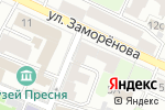 Схема проезда до компании Нуга Москва в Москве