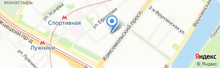 СГ-транс на карте Москвы