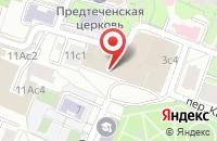 Схема проезда до компании Мебель Сегодня в Москве