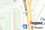 Схема проезда до компании Диск-Сервис в Москве
